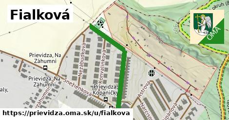 ilustrácia k Fialková, Prievidza - 335m