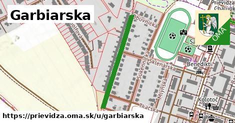 ilustrácia k Garbiarska, Prievidza - 307m