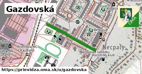 ilustrácia k Gazdovská, Prievidza - 293m