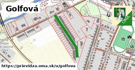 ilustrácia k Golfová, Prievidza - 281m
