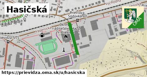 ilustrácia k Hasičská, Prievidza - 156m
