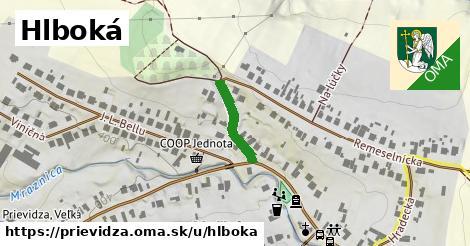 ilustrácia k Hlboká, Prievidza - 144m