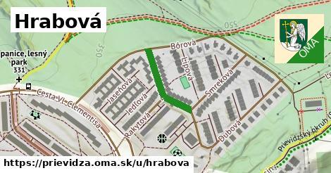 ilustrácia k Hrabová, Prievidza - 183m