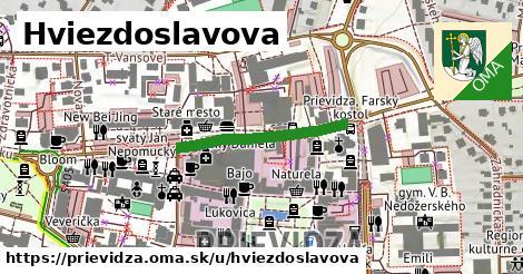 ilustrácia k Hviezdoslavova, Prievidza - 254m