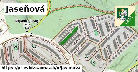 ilustrácia k Jaseňová, Prievidza - 127m