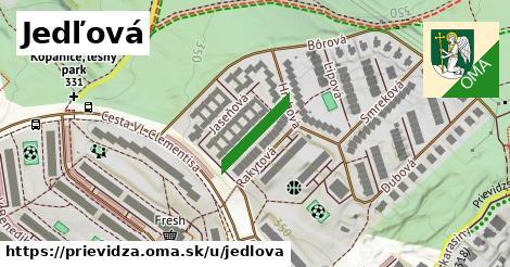 ilustrácia k Jedľová, Prievidza - 138m