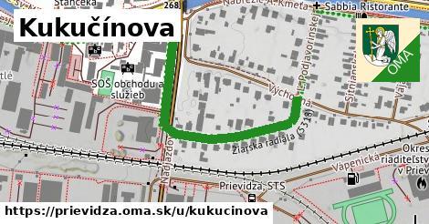 ilustrácia k Kukučínova, Prievidza - 458m