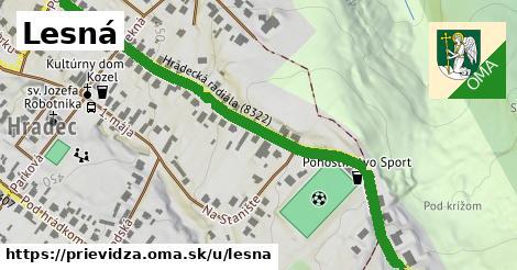 ilustrácia k Lesná, Prievidza - 0,74km