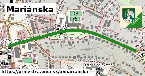 ilustrácia k Mariánska, Prievidza - 676m