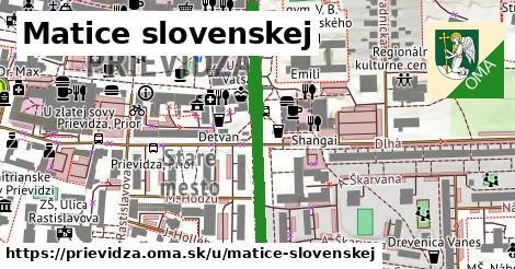 ilustrácia k Matice slovenskej, Prievidza - 405m