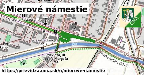 ilustrácia k Mierové námestie, Prievidza - 371m