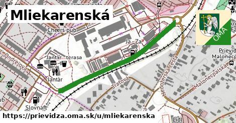 ilustrácia k Mliekarenská, Prievidza - 430m