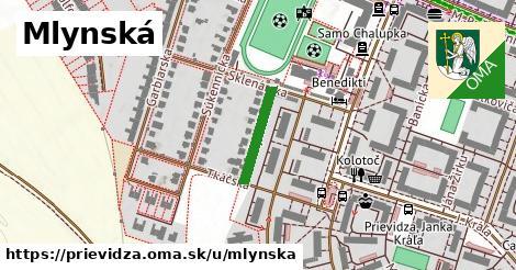 ilustrácia k Mlynská, Prievidza - 144m