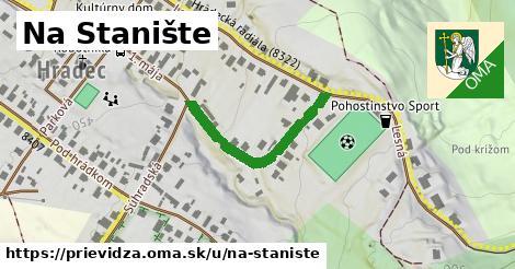 ilustrácia k Na Stanište, Prievidza - 278m