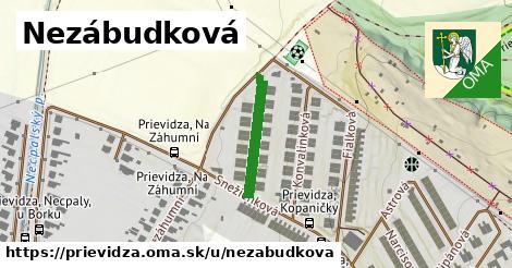 ilustrácia k Nezábudková, Prievidza - 181m