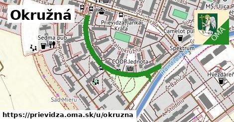ilustrácia k Okružná, Prievidza - 371m