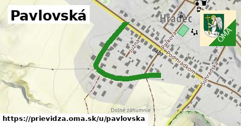 ilustrácia k Pavlovská, Prievidza - 377m