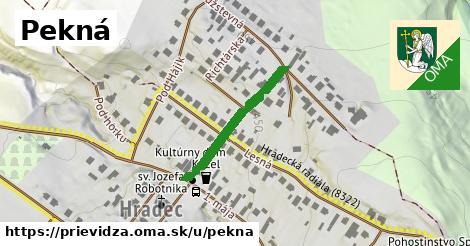 ilustrácia k Pekná, Prievidza - 238m