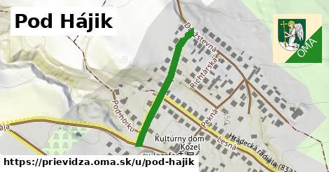 ilustrácia k Pod Hájik, Prievidza - 287m
