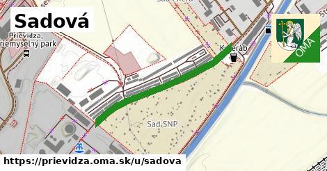 ilustrácia k Sadová, Prievidza - 357m