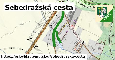 ilustrácia k Sebedražská cesta, Prievidza - 507m