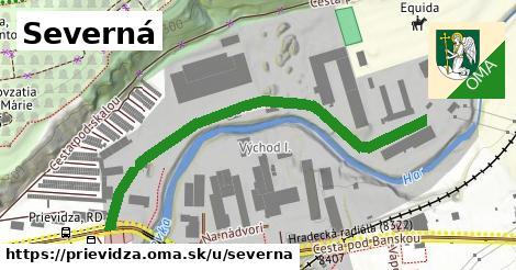ilustrácia k Severná, Prievidza - 578m