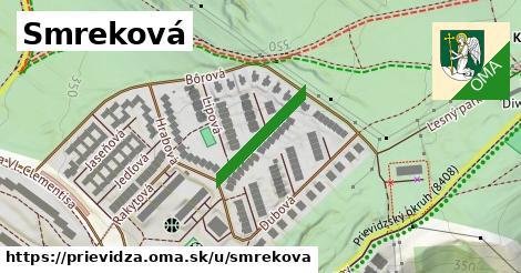 ilustrácia k Smreková, Prievidza - 180m
