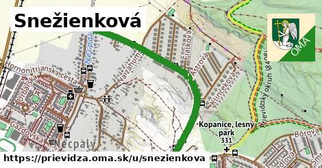 ilustrácia k Snežienková, Prievidza - 1,00km