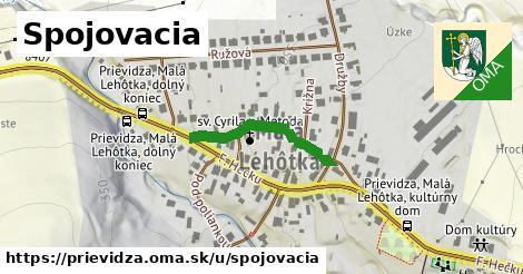 ilustrácia k Spojovacia, Prievidza - 228m