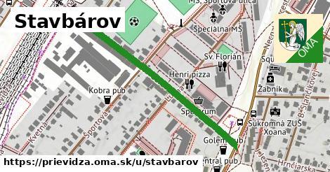 ilustrácia k Stavbárov, Prievidza - 418m