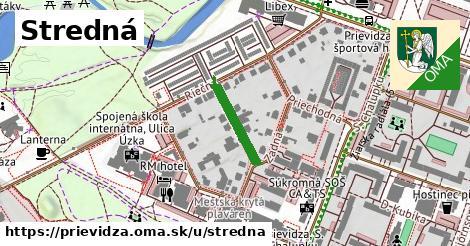 ilustrácia k Stredná, Prievidza - 148m
