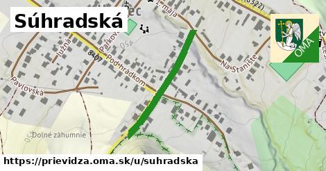 ilustrácia k Súhradská, Prievidza - 279m