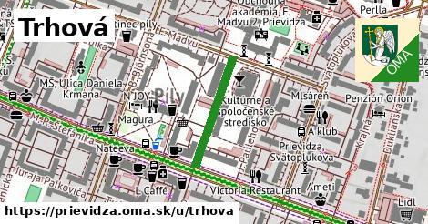 ilustrácia k Trhová, Prievidza - 202m