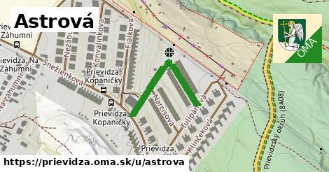 ilustrácia k Astrová, Prievidza - 266m