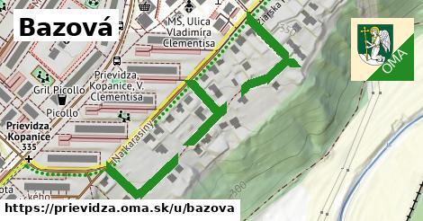 ilustrácia k Bazová, Prievidza - 512m