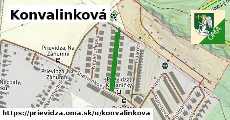 ilustrácia k Konvalinková, Prievidza - 198m