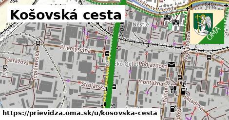 ilustrácia k Košovská cesta, Prievidza - 1,36km