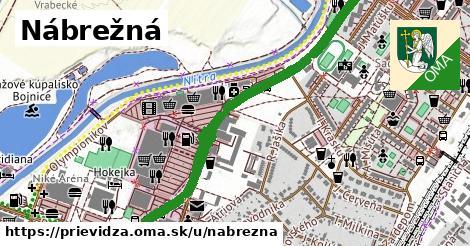 ilustrácia k Nábrežná, Prievidza - 1,43km