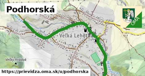 ilustrácia k Podhorská, Prievidza - 1,39km