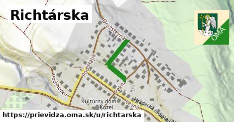 ilustrácia k Richtárska, Prievidza - 175m