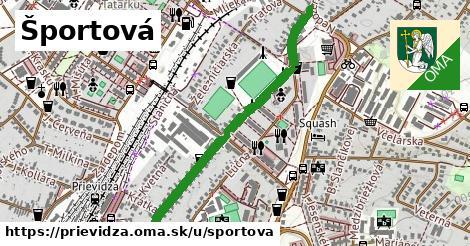 ilustrácia k Športová, Prievidza - 0,91km