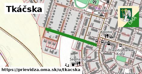 ilustrácia k Tkáčska, Prievidza - 279m