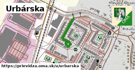 ilustrácia k Urbárska, Prievidza - 240m