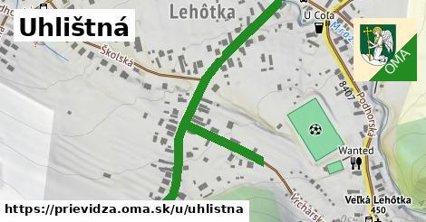 ilustrácia k Uhlištná, Prievidza - 515m