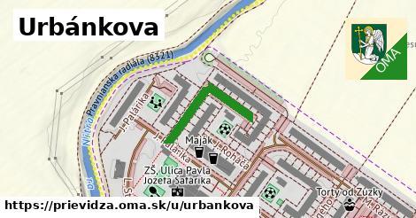 ilustrácia k Urbánkova, Prievidza - 231m