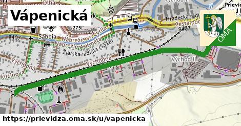 ilustrácia k Vápenická, Prievidza - 1,44km