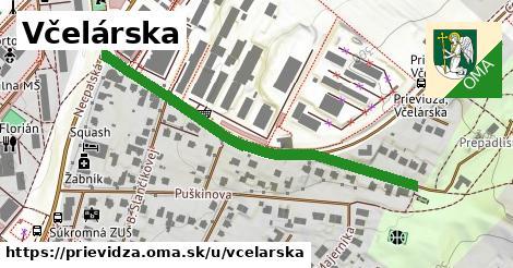 ilustrácia k Včelárska, Prievidza - 505m