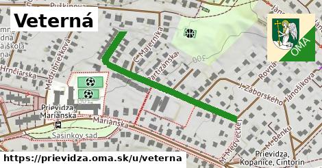 ilustrácia k Veterná, Prievidza - 414m