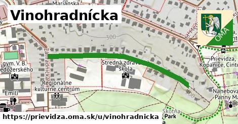 ilustrácia k Vinohradnícka, Prievidza - 460m