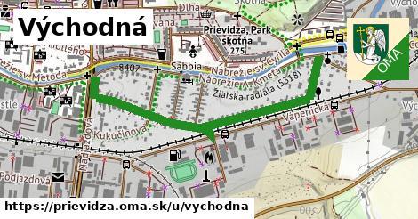 ilustrácia k Východná, Prievidza - 1,08km